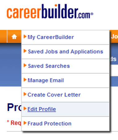 careerbuilder resume search