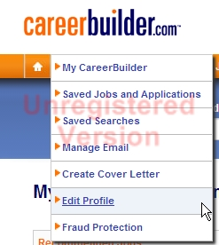 how do i unsubscribe from careerbuilder emails