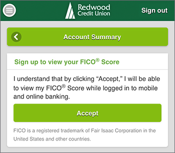 Image of Sign up to view your FICO<sup>®</sup> Score