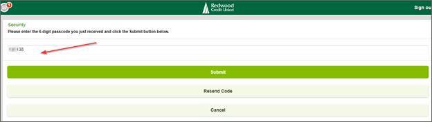 Add 6-digit passcode
