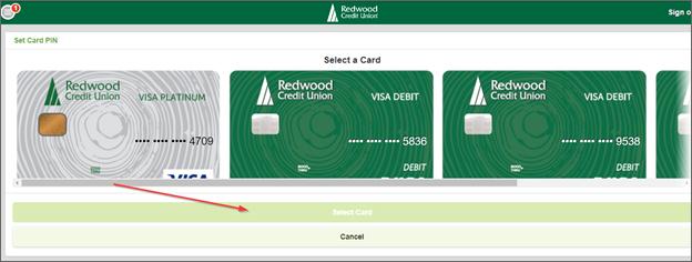 Select Card