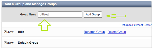 Add a Group and Manage Groups