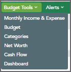 Budget Tools Navigation