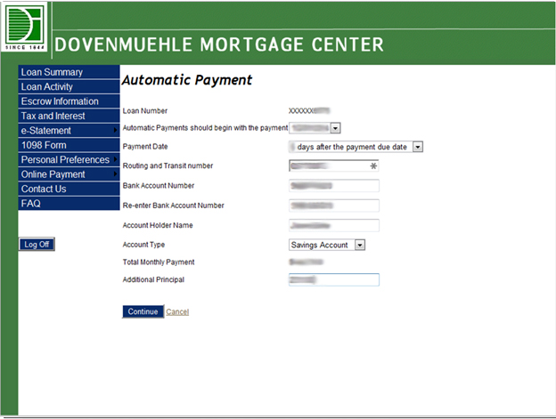 Image of Automatic Payment Process