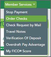 Order Checks
