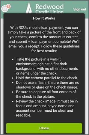 How It Works - mobile loan payments
