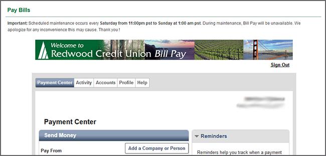 Bill Pay - Pay Bills - Payment Center