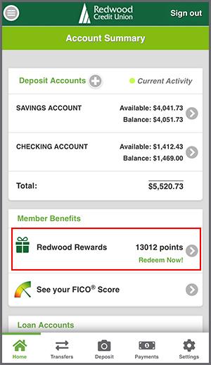 Member Benefits in Mobile