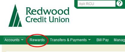 Location of Redwood Rewards