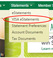 VISA eStatements
