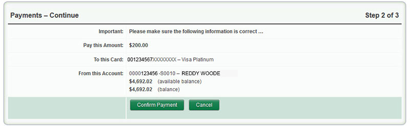 Payments Step 2